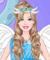 Barbie Angel Dress Up Game