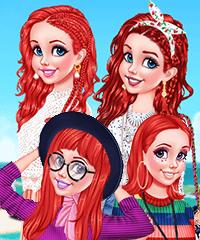 All Seasons Diva Dress Up Game