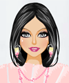 Powder Pink Style Dress Up Game
