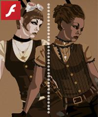 Steampunk Costume Creator Game