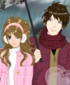 Anime Winter Couple