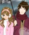 Anime Winter Couple
