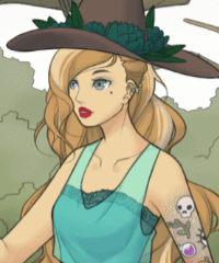Witch Dollmaker Dress Up Game