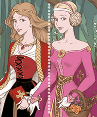 Sleeping Beauty Dress Up Game