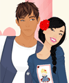 Sweethearts Mini Dress Up Game