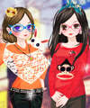 BFF Spring Trip Dress Up Game