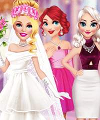 Barbie Wedding Game Dress Up Game
