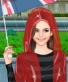Autumn Rain Dress Up Game