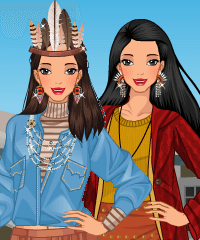 Pocahontas Today Dress Up Game