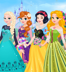 Princess Dream Dress Design Game