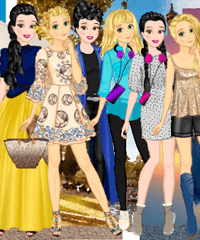 Disney Summer Eurotrip Dress Up Game