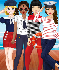 Team Skipper Dress Up Game