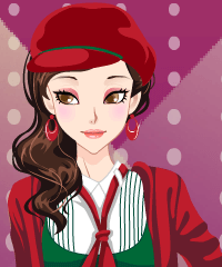 Stylish Christmas Dress Up Game