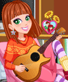 Valentines Day Guitar Recital Dress Up Game