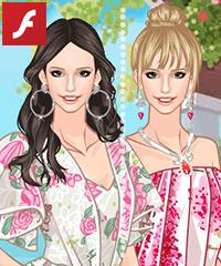 Floral Dresses 2 Dress Up Game