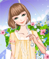 Colorful Autumn Dresses Dress Up Game