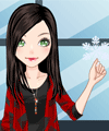 Paper Snowflake Dress Up Game