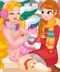 Princess Winter Stories Game