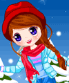 Joyful Snow Dress Up Game