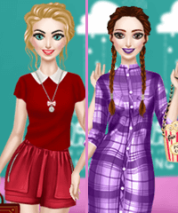 Annie Nerdy Look Dress Up Game
