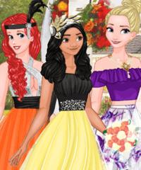 Cinderella wedding dress up game