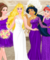 Disney Princess Bridesmaids Dress Up Game