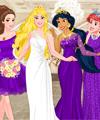 Disney Princess Bridesmaids Dress Up Game