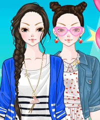 Theme Park Dress Up Game