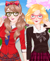 Sisters at School Dress Up Game