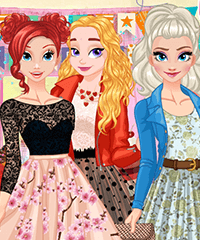 Princess Birthday Fashion Challenge Dress Up Game