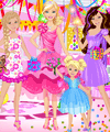 Happy Birthday Barbie Dress Up Game