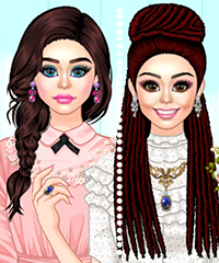 Buns and Braids Dress Up Game
