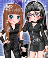 Rock Party Dress Up Game