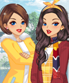 Smile With Sunflowers Dress Up Game