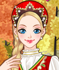 Russian Girl Makeover Game