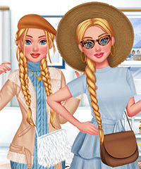 Cinderella Dream Closet Hot vs Cold Dress Up Game