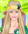 Colors of Spring Dress Up Game
