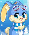 Winter Bunny Dress Up Game