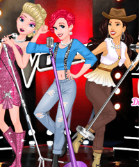 Disney The Voice Show Dress Up Game