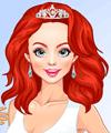 Redhead Royal Princess Dress Up Game