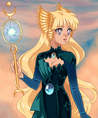 Keeper of the Elements Dress Up Game