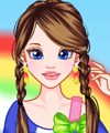 Rainbow Summer Dress Up Game