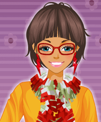 Funky Scarves Dress Up Game