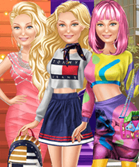 Gigi Hadid Supermodel Fashion Lookbook Dress Up Game