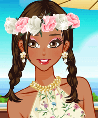South Hemisphere Vacation Dress Up Game