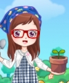 I Love My Garden Dress Up Game