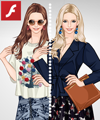 Blooming Skirts Dress Up Game