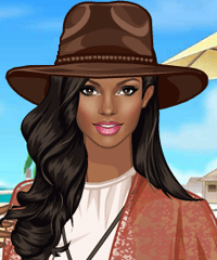 California Dream Dress Up Game