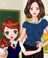 Teacher and Student Dress Up Game