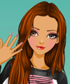 Manicure Muse Dress Up Game